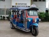 thai three wheeled taxi tuk tuk for sale