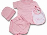 Baby Romper Childrent TShirt Bab Bib - صورة مصغرة