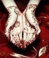 رسم الحنة للعروسة باشكال تجنن مع اميرة سليمان - صورة مصغرة