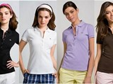 holesale Lacoste Womens Short Sleeved 5 Button Stretch Pique