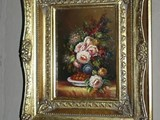 لوحة فنية زيتية قديمة - صورة مصغرة