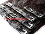 بنات لا يفوتكم توصيلات شعر طبيعية 100 الكمية محدودة Hair extensions - صورة مصغرة