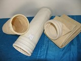 we manufacture PPS needle felt filter cloth filter bags