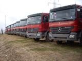 شاحنات مرسيدس قلاب عدد 137 شاحنة - صورة مصغرة