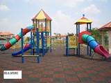 البلاط المطاط لملاعب الأطفال و الحدائق العامة - صورة مصغرة