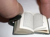أصغر مصحف كريم - صورة مصغرة