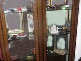 كونسول 3 قطع انتيك مع فاترين مميزة - صورة مصغرة