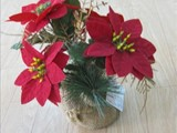 Mini Christmas flower pot 4