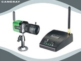 Wireless Color High resolution Micro Box CameraCM WX4400CH - صورة مصغرة