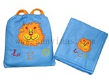 Child fleece bag and blanket SU FL008