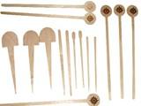 عصي القهوة من الخشب للبيع مستلزمات منزلية أدوات المائدة - صورة مصغرة