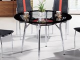 glass dining table B818