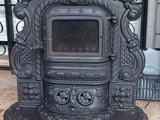 rustic fireplace wood stove ستوف شومينيه - صورة مصغرة