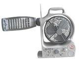 تصدير مجموعة شمسية من مروحة ومصباح - صورة مصغرة