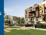 For Sale Duplex garden Westown Residence Cairo Egypt Beverly Hills Sh - صورة مصغرة