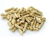 WOOD BIOMASS PELLETS FUEL WITH LOW ASH