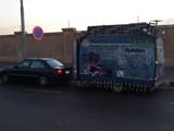 كارافان ايطالي متحرك مرخص يصلح كمطعم او مكتب او رحلات - صورة مصغرة