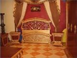 حجرة نوم جنه ذهبى بسرير فوريجه اوساده - صورة مصغرة