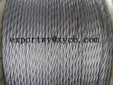 3X7 galvanized steel rope for highway guardrail