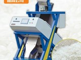 Red and Blue Color LED RICE COLOR SORTER MACHINE WITH JAPAN SENSOR