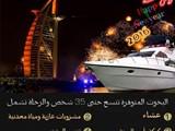 تأجير يخوت فى دبي بمناسبة حفلة رأس السنة 2016