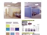 ستائر مشفى ضد البكتيريا والحريق - صورة مصغرة