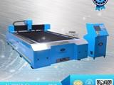 التصنيع باستخدام الحاسب الآلي ألياف الليزر آلة قطع للأشغال صفائح معدني - صورة مصغرة