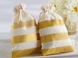 Cotton Pouch Wedding Bag Gift Bag Muslin Bag - صورة مصغرة
