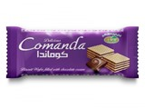 Comanda wafer filled with chocolate cream - صورة مصغرة
