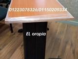 مكتب موظف حشب ومعدن - صورة مصغرة
