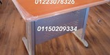 مكاتب خشب زان مطعمه بالنحاس - صورة مصغرة