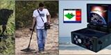 جهاز كشف الذهب والمعادن التصويري والصوتي الأفضل DEEP HUNTER - صورة مصغرة