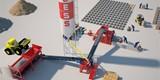 مصنع بلوك وانترلوك وبلدورة PRS400 - صورة مصغرة