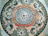 MEDALLION MOSAIC MARBLE FOR HOME091093 GARDEN POOL NR