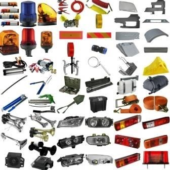We supply parts Accessories for heavy and medium duty trucks buses