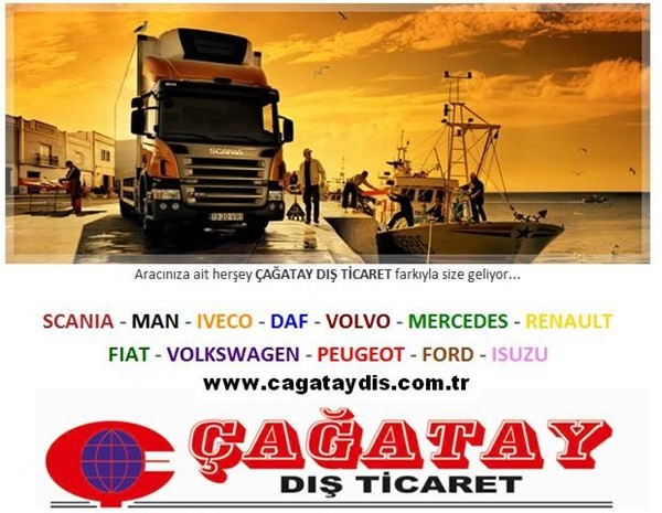 Accessories parts for heavy medium duty trucks buses made in Turkey